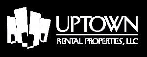 Uptown White Logo