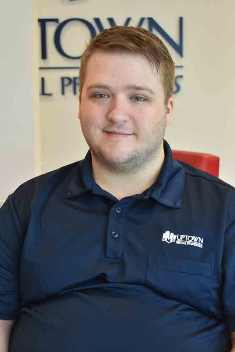 Headshot of Ben Fultz, Property Manager at Uptown Rentals.