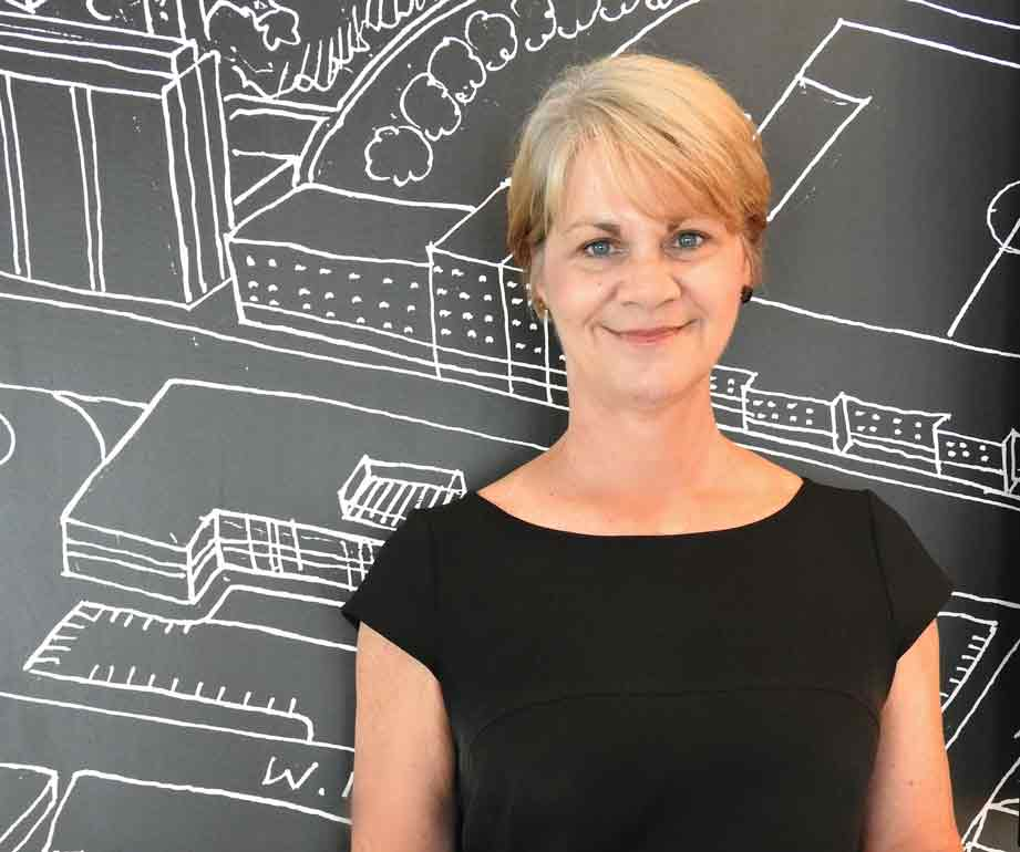 Headshot of Johnna Mullikin, VP of Property Management at Uptown Rentals.