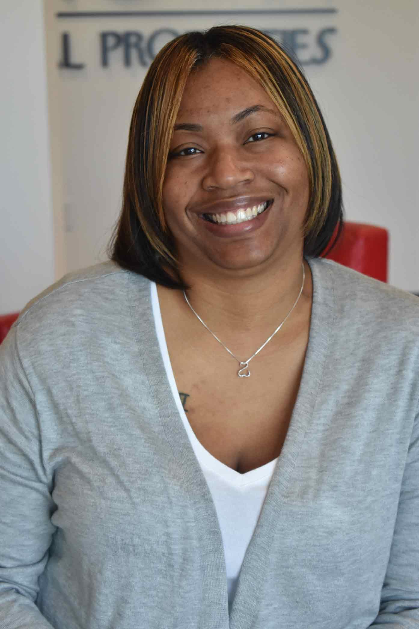 Headshot of Shauntee Nye, Property Manager at Uptown Rentals.