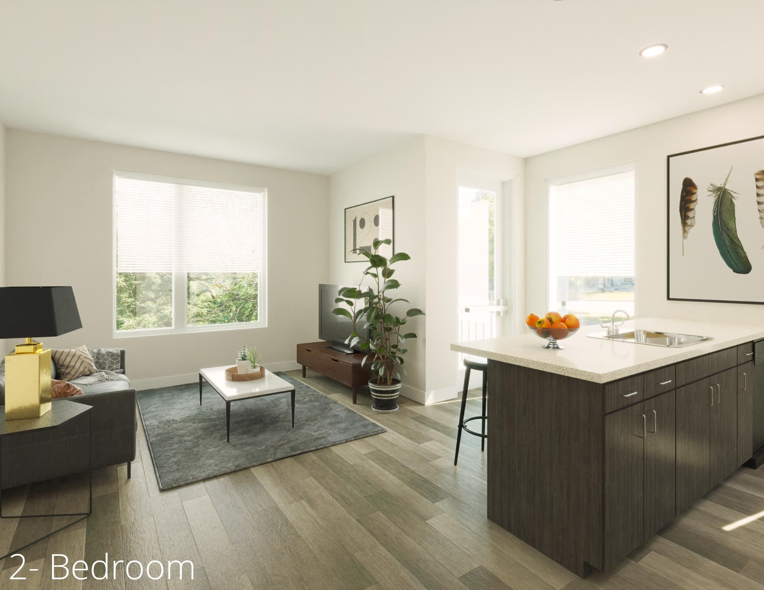 2 Bedroom apartment Short Vine